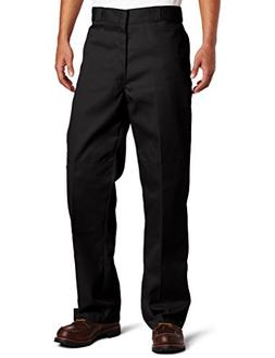 Dickies 85283BK36X32 Black Double Knee Work Pants - 36-inch