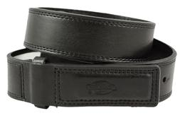 DICKIES MENS MECHANIC WORK BELT LEATHER COVERED BUCKLE INDUS