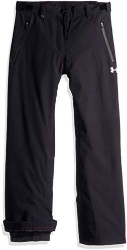 Under Armour Boys' Big Rooter Insulated Pant, Black, Medium