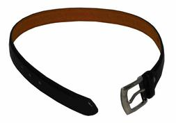 CCB Boys Toddlers Leather Belt Black
