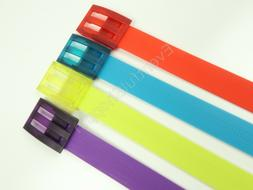 Adidas Golf Rubber Fashion Belt Pick Color Red Blue Yellow P