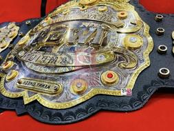 IWGP Heavyweight Championship Dual Plated Title Replica Leat