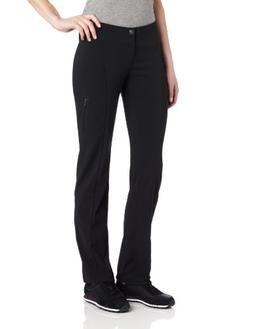 Columbia Women's Just Right Straight Leg Pant, Black, 4R
