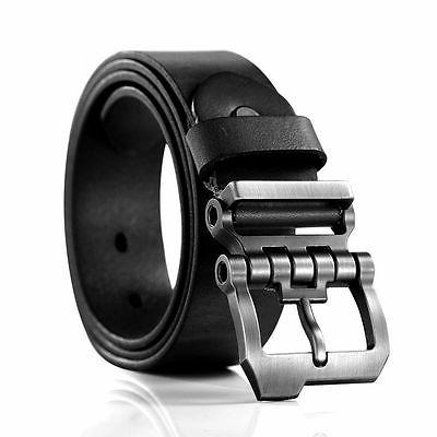 Casual Men's Genuine Leather Whole Cowhide Waist Strap Jeans Belts