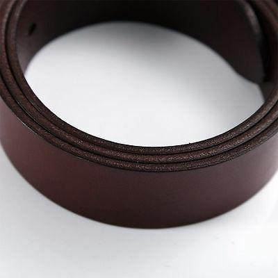 Casual Men's Genuine Leather Whole Cowhide Waistband Strap