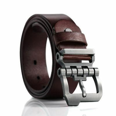 Casual Men's Genuine Leather Whole Cowhide Waistband Waist S