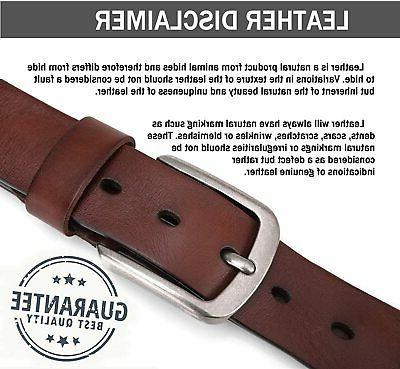 Cow Anti-scratch Buckle Belts