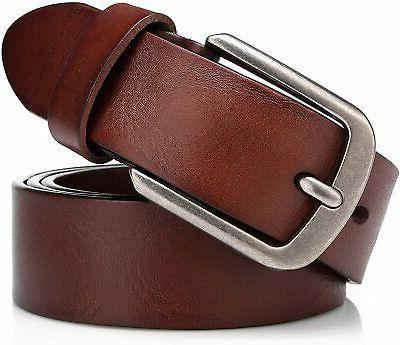 Men's Italian Cow Belt Buckle Belts