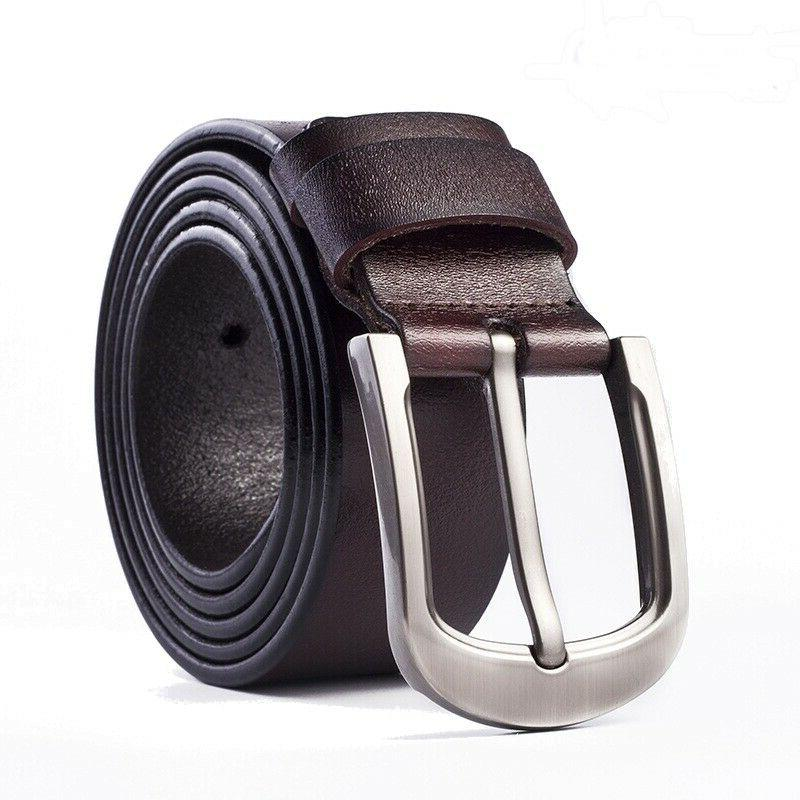 Mens Leather Belts with Pin Stock
