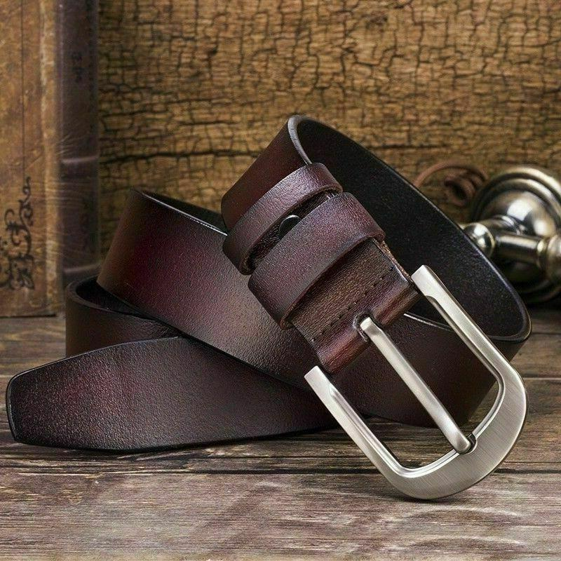 Belts with Pin Buckle Black Stock