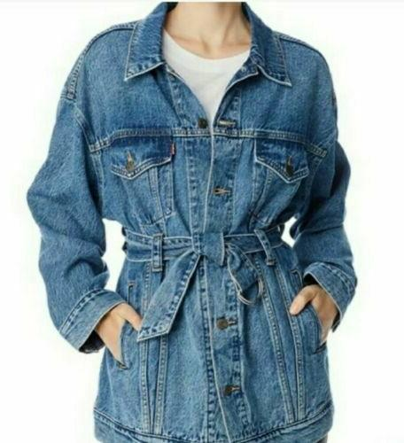 NWT Out OVERSIZED Jean womens S New