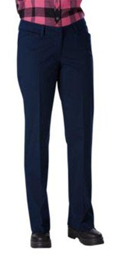 Dickies Women's Relaxed Straight Stretch Twill Pant, Dark Na