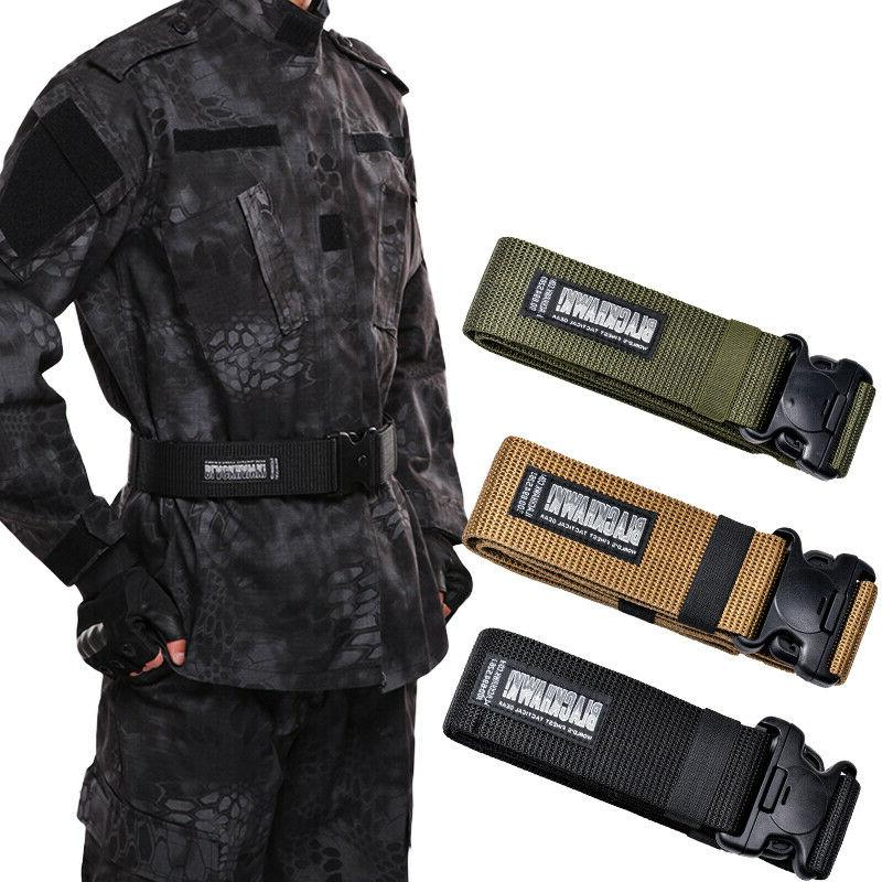 US Tactical Nylon Combat Waistband Military