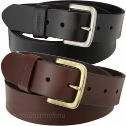 "Carhartt Leather Belt Mens 1-1/2"" Journeymen Belts Removable"
