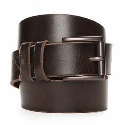 LEVI'S MEN'S LEATHER BELT NEW WITH TAGS BROWN 34 36 38 40 42