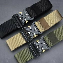 MEN Casual Military Tactical  Army  Adjustable  Quick Releas