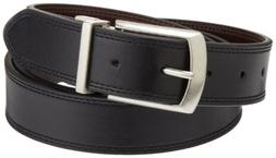 Dickies Men's 1 3/8 in. Leather Reversible Belt With Stitch,