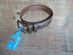 Columbia Men's 100% Leather Brown Belt Size 36 - Genuine Lea
