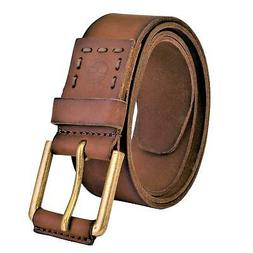 Timberland Men's Casual Distressed Genuine Leather Belt