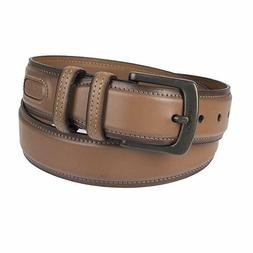 Columbia Men's Casual Leather Belt NWT Tan Size 30