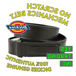 DICKIES MEN'S MECHANICS BELT GENUINE BLACK LEATHER BUCKLE CO
