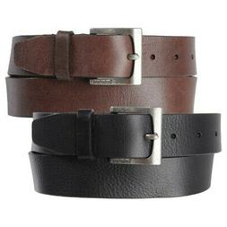 Timberland Mens 35MM Casual Belt Genuine Leather Rugged Clas