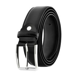 Men's 5XL Big & Tall Genuine Black Leather Belts Plus Size