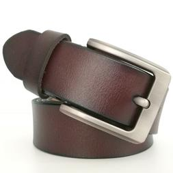 "Mens Belts Big and Tall Size 28""-64"" Genuine Leather Belts f"