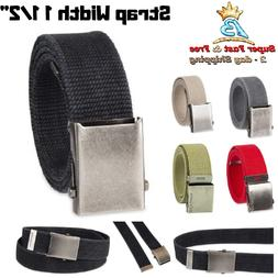 Military Canvas Web Belt Casual Belts For Men Clothing Acces