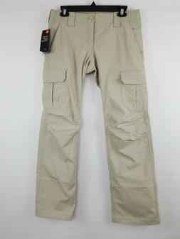 *NEW* $80 UNDER ARMOUR WOMENS TACTICAL PATROL CARGO PANTS Kh