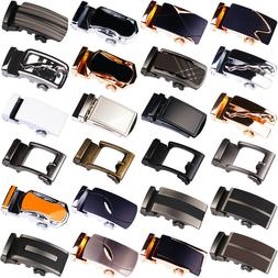 New Fashional Automatic Buckle Mens Waistband Ratchet Real G
