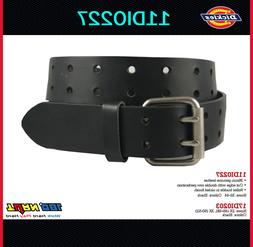 New Dickies Mens Two Hole Double Prong Bridle Black Leather