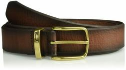 NWT Levi's Leather 1 3/8 In. Bridle Belt With Metal Loop 11L