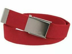 NWT Men's Columbia Reversible Fabric Stretch Cut-to-Fit Belt