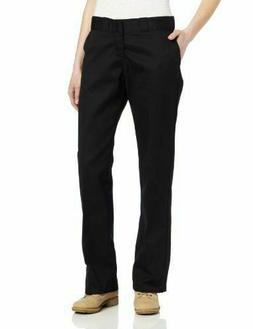 NWT Dickies Women's Original 774 Work Pants Black Sz 10R kha