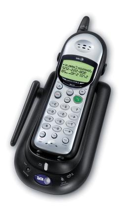 AT&T 1445 2.4 GHz Analog Cordless Telephone