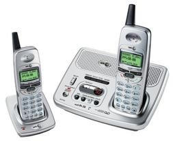 AT&T E2727B - 2.4 GHz Dual Handset Answering System with Cal