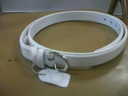 Women's All White Belt Size 3X-Large Brand New!