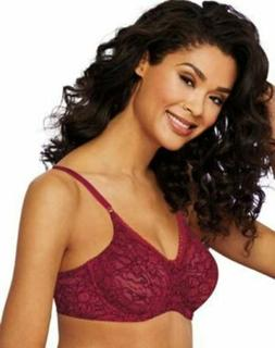 Bali Women's Lace 'n Smooth Full Coverage Underwire Bra - 7