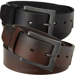 "Carhartt Work Belt Mens 1-1/2"" Leather Anvil Belts Metal Buc"